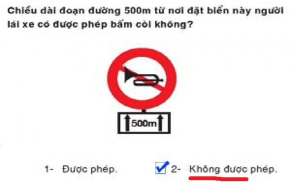 Câu hỏi lý thuyết lái xe b2