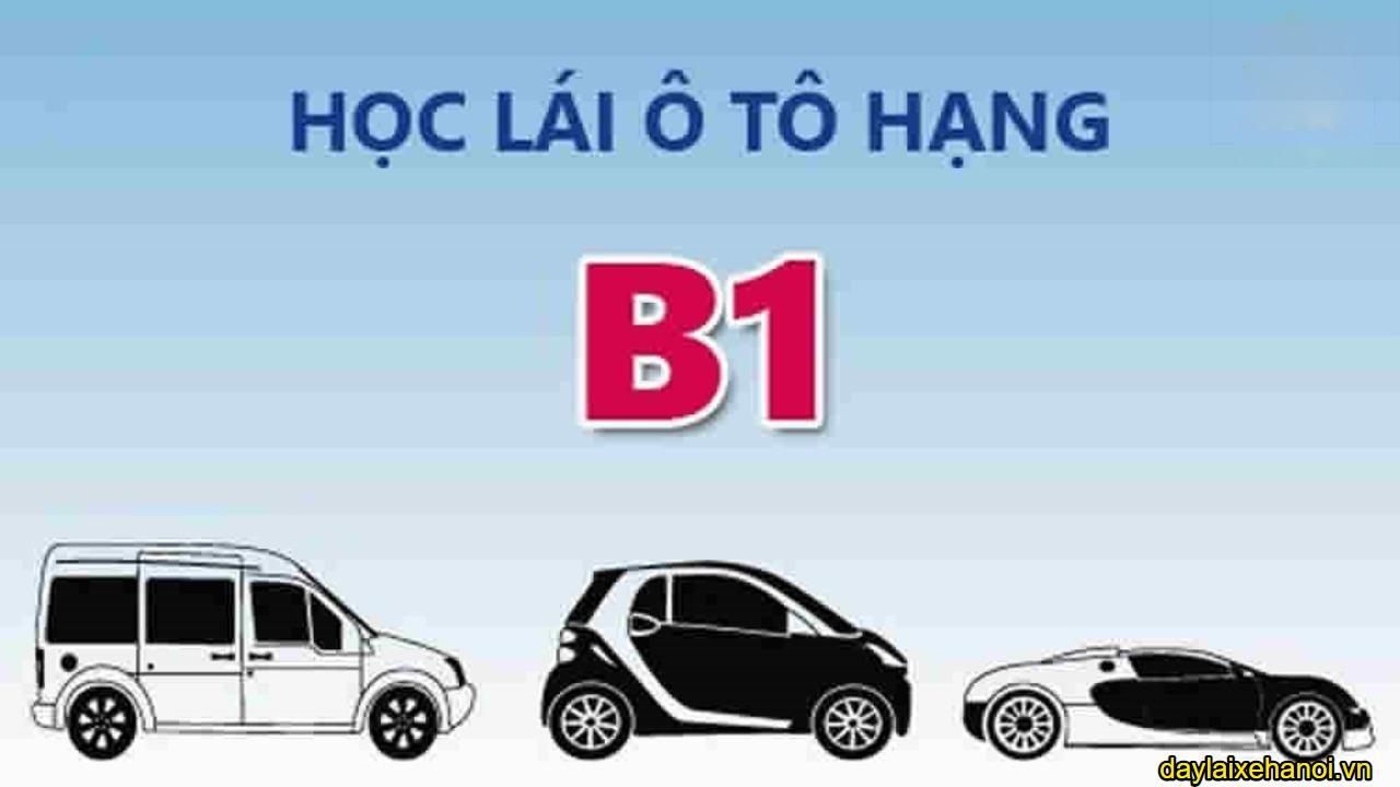 Bằng B1 lái được những xe gì