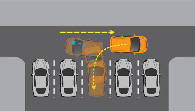 Hướng dẫn cách lùi xe vào chuồng b2 cho người mới học lái xe ô tô