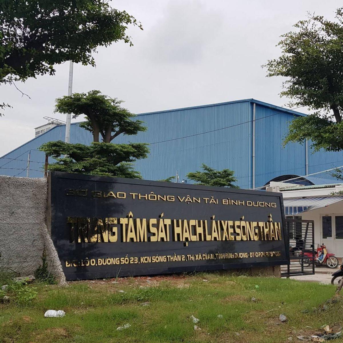 Trung tâm Đào tạo lái xe Sóng Thần