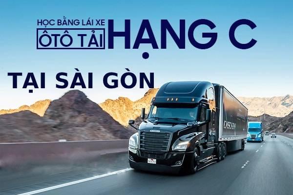 Học lái xe tải hạng C ở đâu tại Sài Gòn
