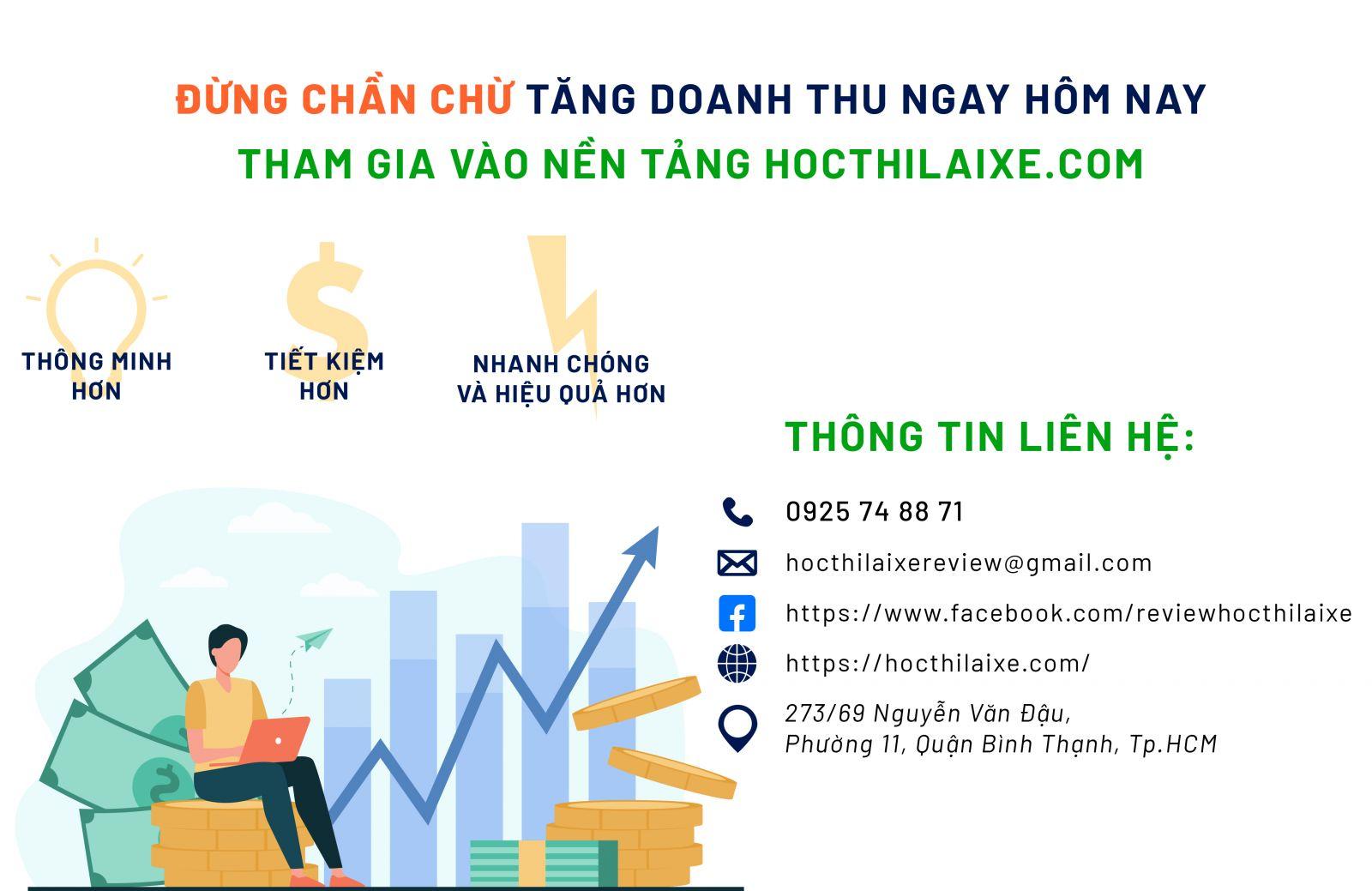 Hocthilaixe.com nền tảng đánh giá trung thực và khách quan