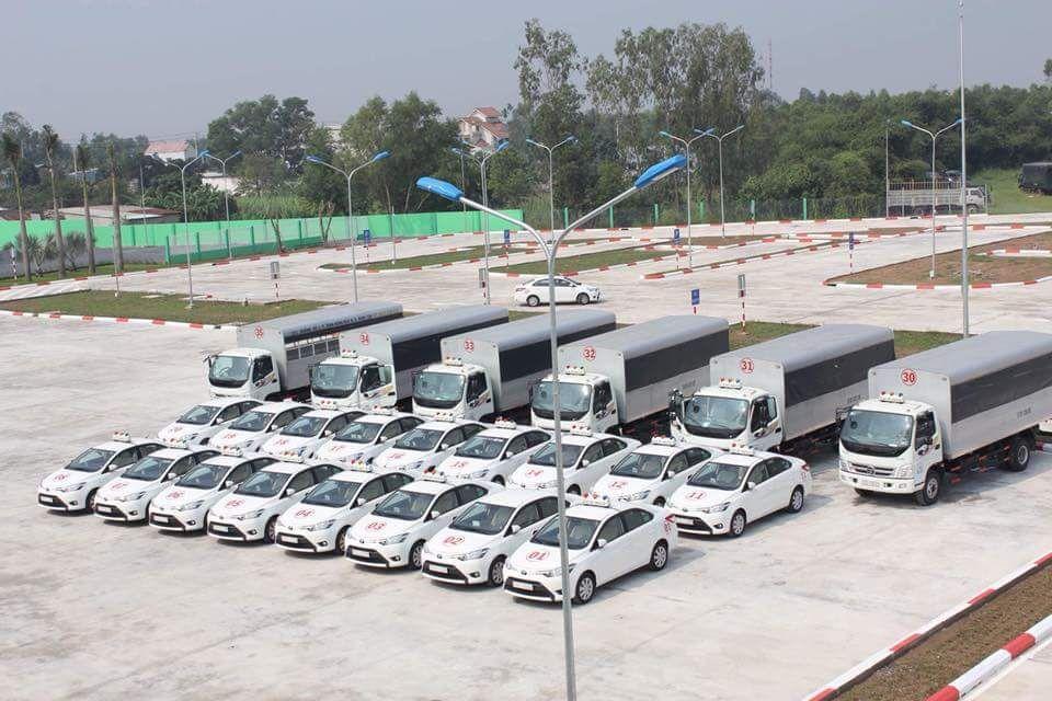 Xe thực hành sẽ được gắn thiết bị theo dõi để thuận tiện cho việc quản lí