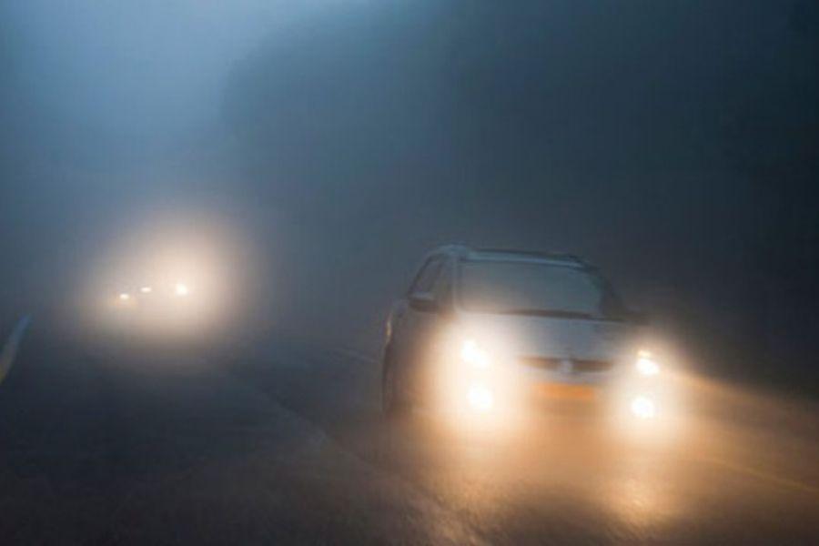 Đường xấu, sương mù, thời tiết xấu