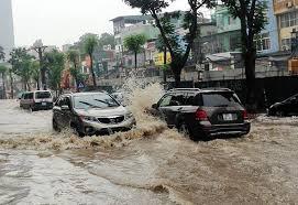 Đoạn đường nước quá nhiều thì mình khuyên bạn không nên đi qua