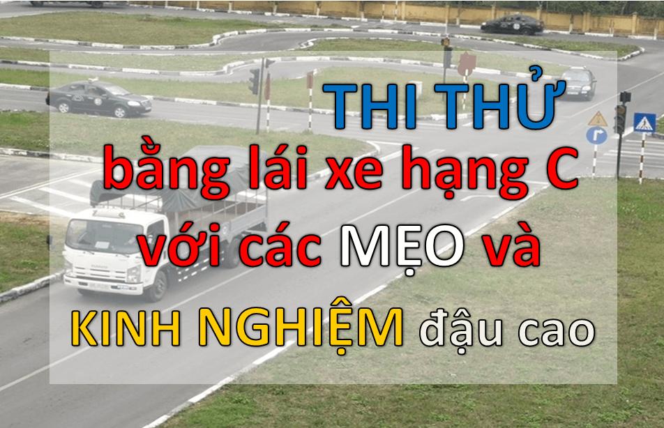 Thi thử lý thuyết lái xe hạng C
