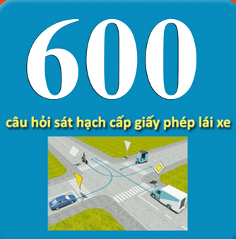 600 câu lý thuyết trong đề thi thử lái xe hạng C