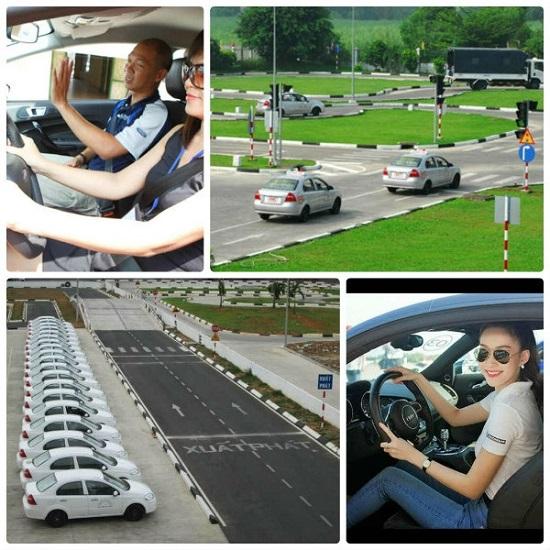 Quy trình học thực hành lái xe B2