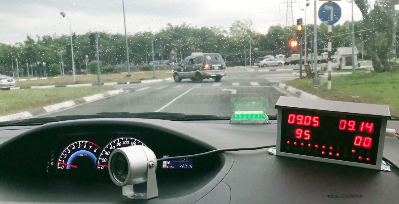 Kinh nghiệm lái xe ô tô trong bài thi sa hình B2 mới nhất